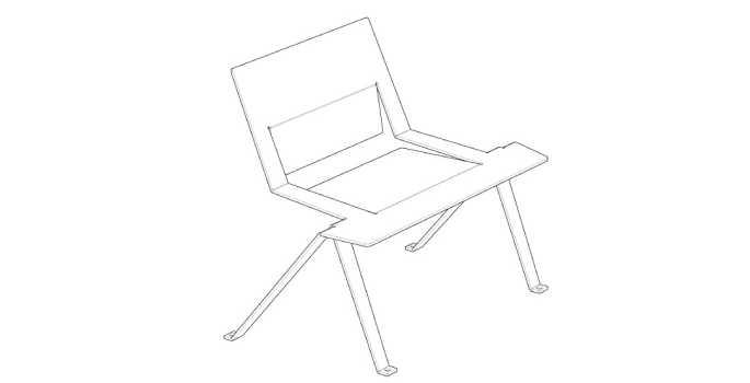 chaise-chair-design-metal-mobilier-urbain-outdoor-street furniture