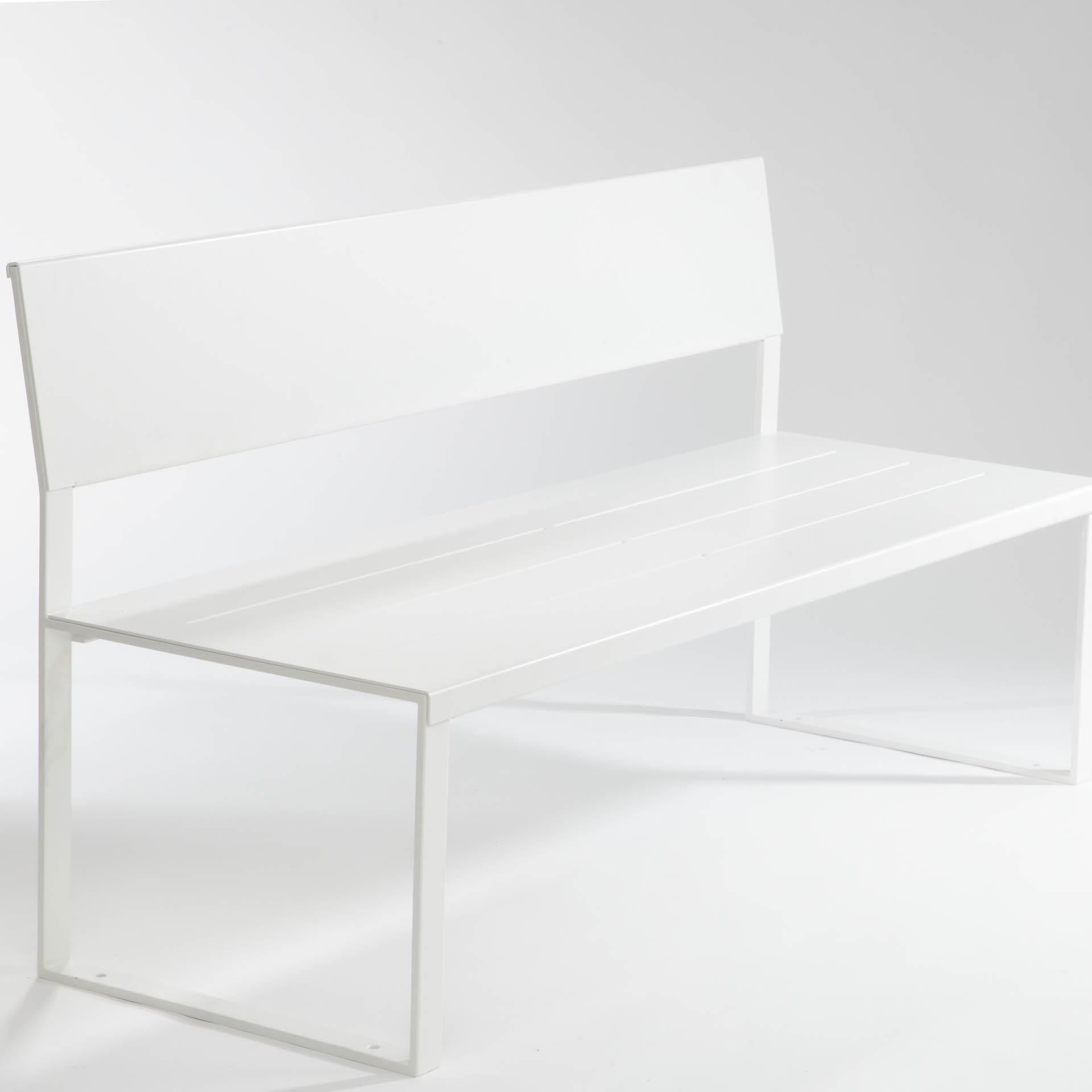 banc soft bench mobilier ext rieur en m tal. Black Bedroom Furniture Sets. Home Design Ideas