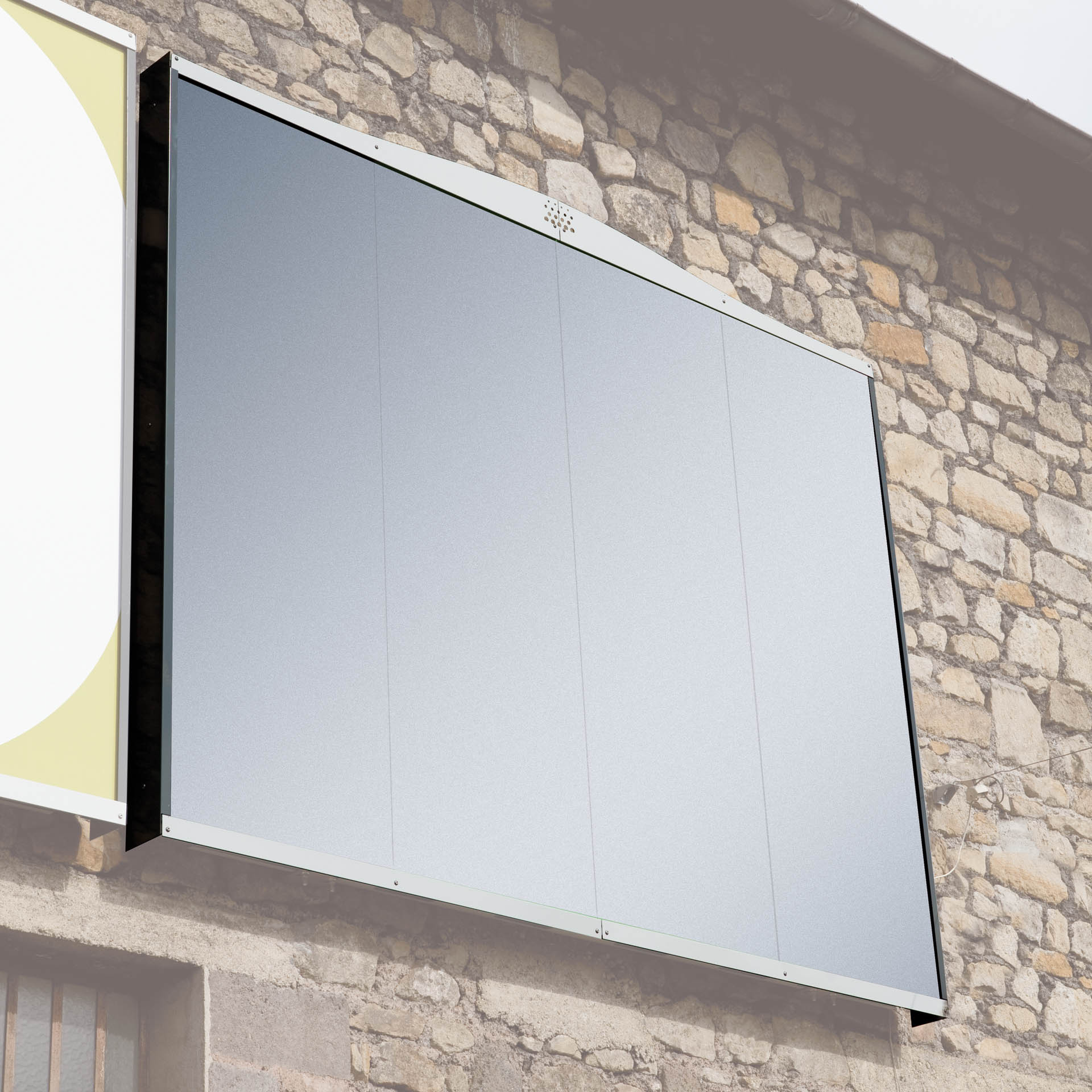 4m²  wall-mounted sign standard