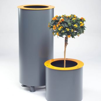 design-metal-jardinères-garden pot