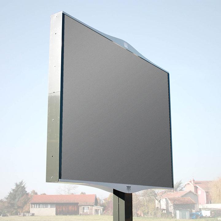 Panneau Signalétique Monopied 12m