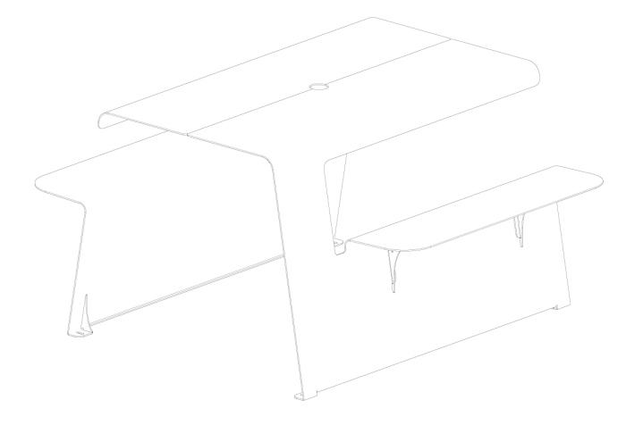 table-metal-mobilier-urbain-outdoor-exterieur-street furniture