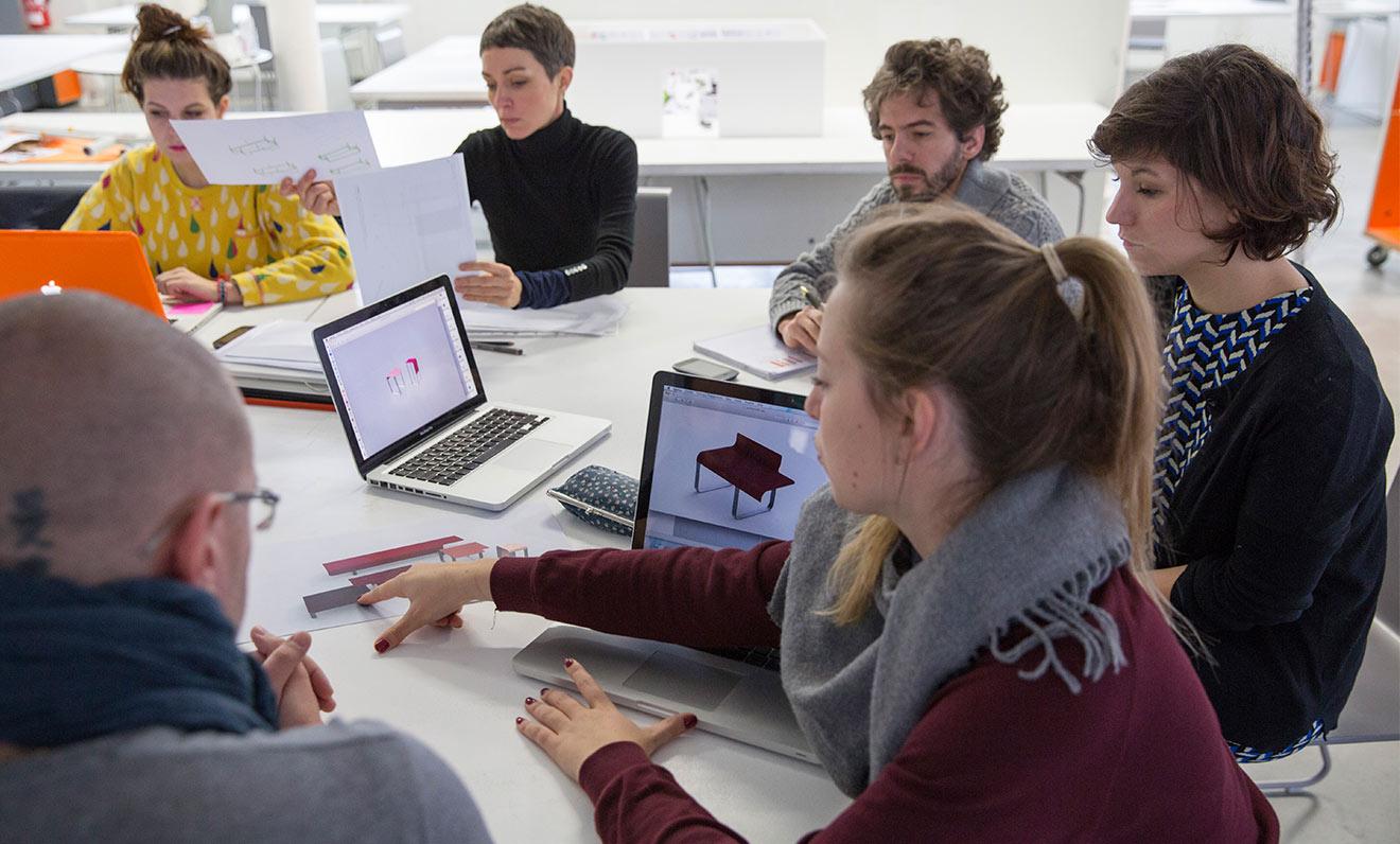 TF lance son 1er workshop créatif avec l'ESADSE