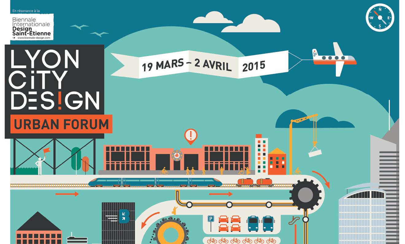 TF partenaire de LYON CITY DES!GN Urban Forum