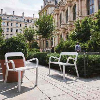 Chaise et Banc urbain Marc Aurel