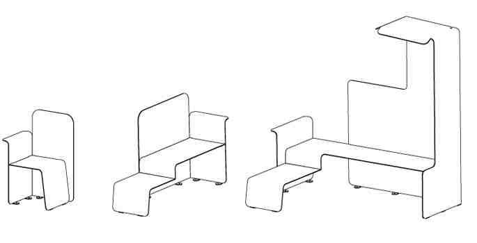 banc-bench-metal-mobilier urbain-street-furniture