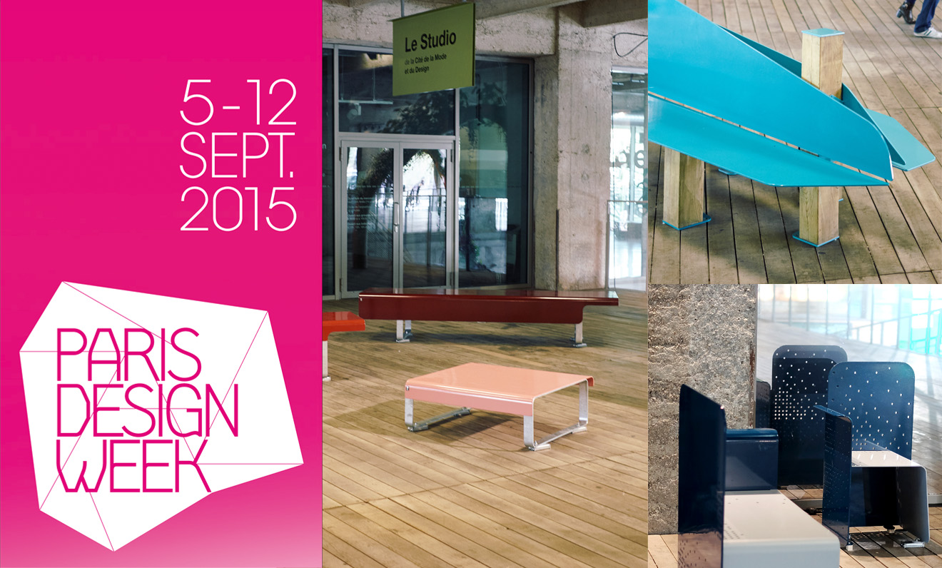 TF urban s'expose durant la Paris Design Week 2015