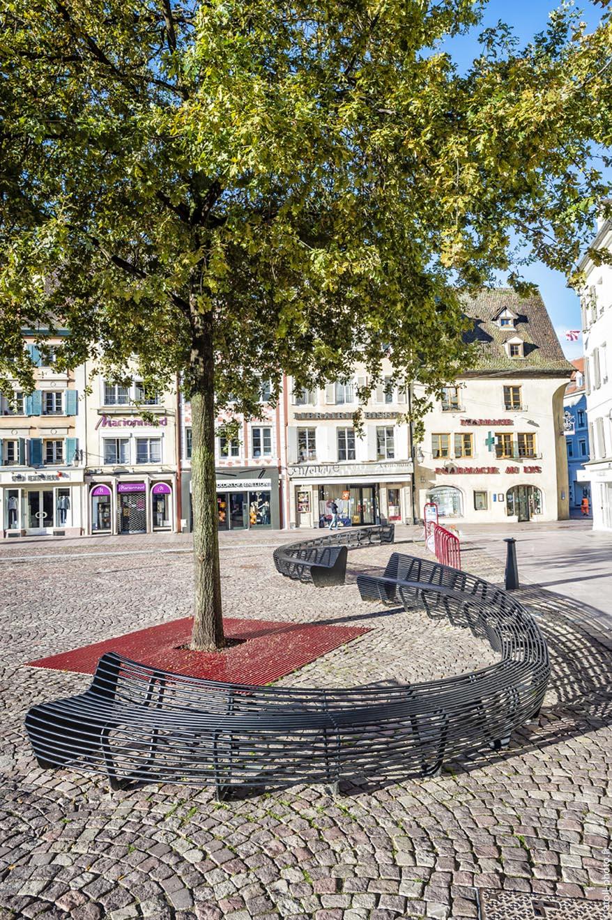 Circular bench - Mulhouse