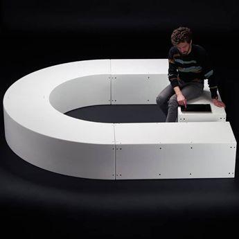 le modulaire banc design pour espaces publics et outdoor. Black Bedroom Furniture Sets. Home Design Ideas