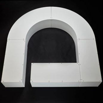 Banc Sculpture Le Modulaire de Maud LC par  TF
