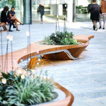 botanic twist un banc sur mesure en mati re de design v g tal. Black Bedroom Furniture Sets. Home Design Ideas