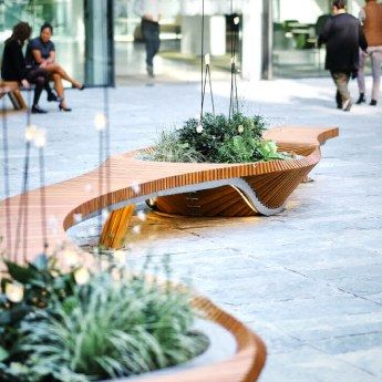 Banc Urbain Alexis Tricoire Botanic Twist