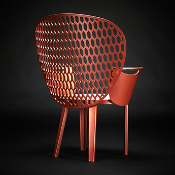 Chaise urbaine design