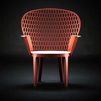 design metal urban chair
