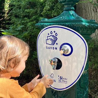 Distributeur Savon Fontaines Publiques