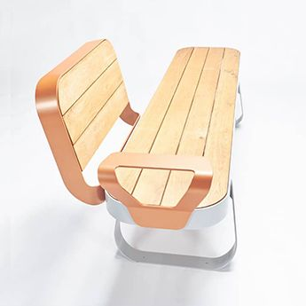 Urban furniture Seaside bench