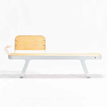 Street sea bench