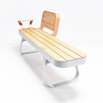 banc-bench-bois-metal-mobilier-urbain-outdoor-street furniture-outdoor