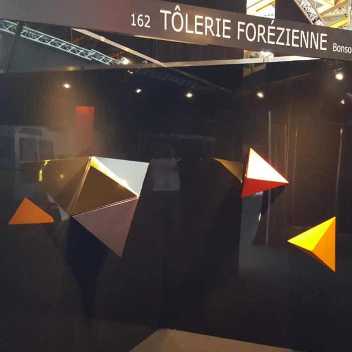 Pyramide Murale 3D