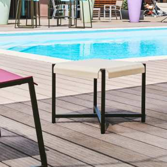 Table basse professionnelle terrasse