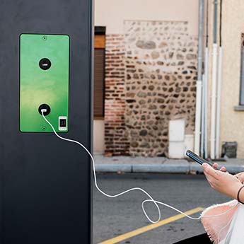 Station solaire de chargement USB pour portable