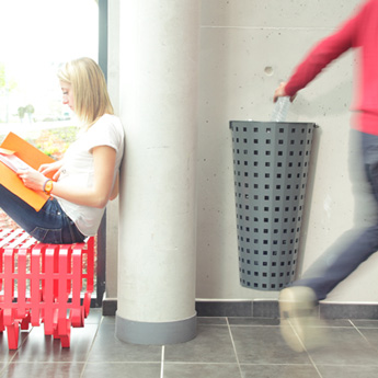 poubelle urbaine design