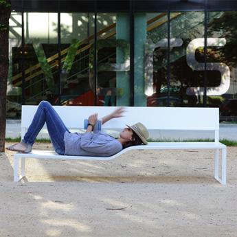 Banc Urbain Design Exterieur Lucile Souflet