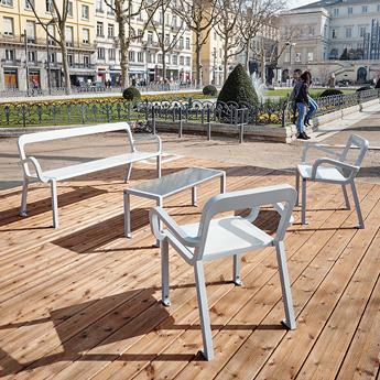 chaise pour espace public marc aurel