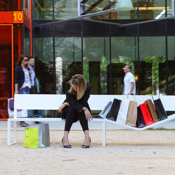 Outdoor Urban Bench : Lucile Souflet