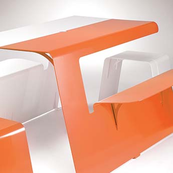 Piknik is a Street Furniture, a Picnic Table.