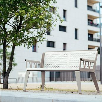 Mobilier Collectivité Design Banc Sofa