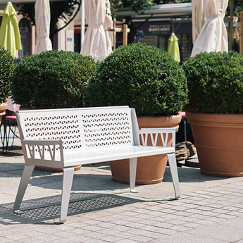 City design urban bench sofa