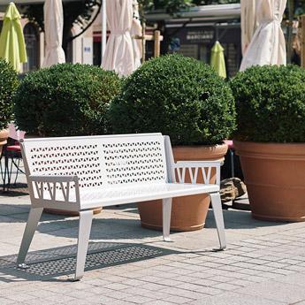 Mobilier Urbain Banc Design Sofa