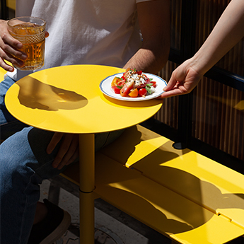 Mobilier de bar professionnel pour terrasse