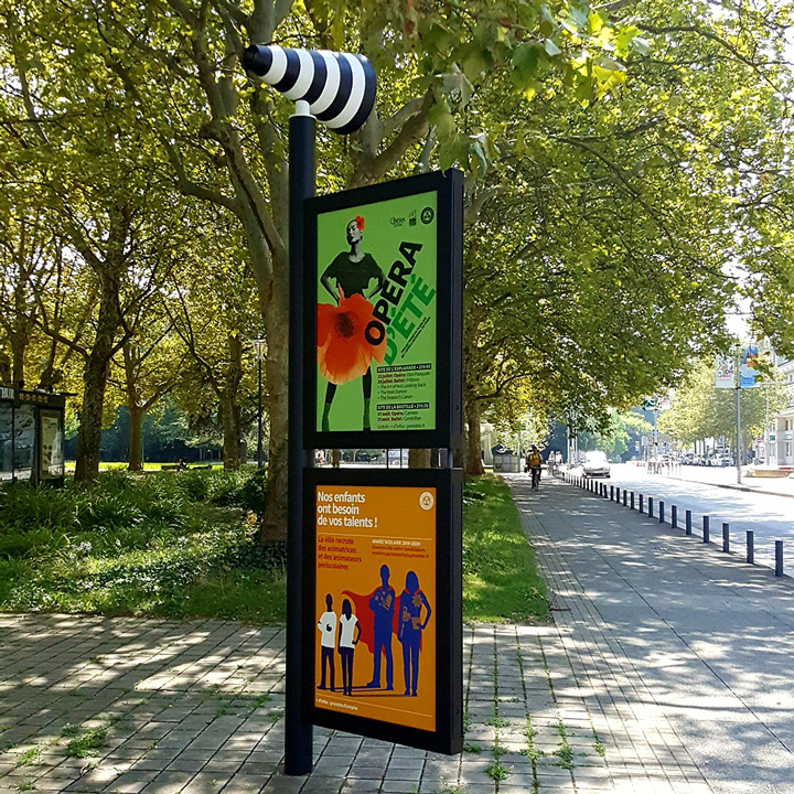 Information Display Stand