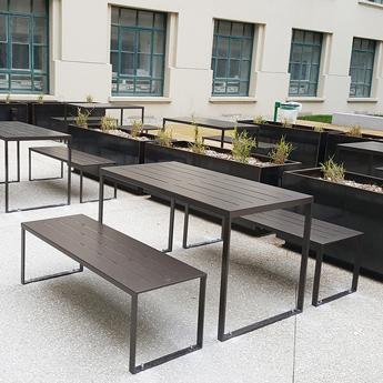Table de Restaurant Extérieur