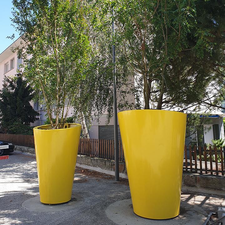 Pots XXL pour arbres