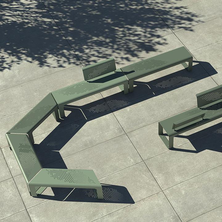Zig&Zag Street Bench