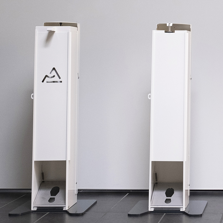 Distributeur Gel Hydroalcoolique sur pied 5 Litres