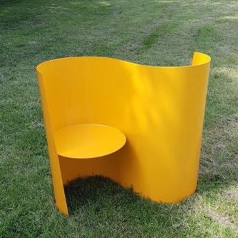 Chaise double pour visiteurs pour salle d'attente et espace de repos