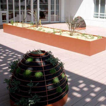 TF URBAN - jardinière sur-mesure - by Studio TF