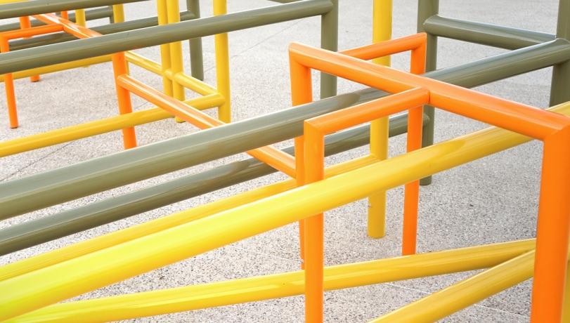 Cluster, la sculpture urbaine de Johanna Fournier